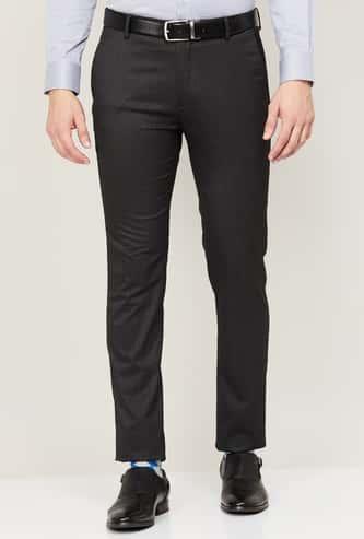 ARROW NEW YORK Men Solid Formal Trousers