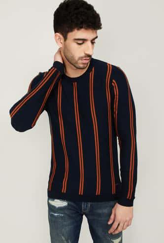 BOSSINI Men Striped Sweater