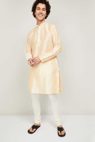 MELANGE Men Solid Kurta with Pyjama