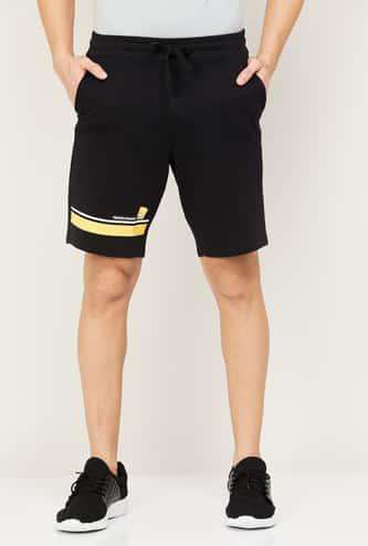 FAME FOREVER Men Printed Elasticated Shorts