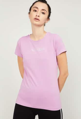 KAPPA Women Printed Training T-shirt