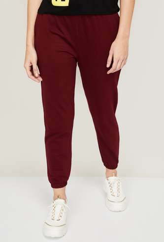 FAME FOREVER Women Solid Joggers