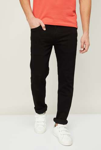 LEVI'S Men Solid Slim Tapered Jeans