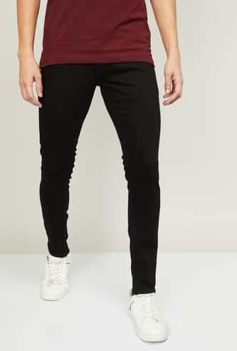 SPYKAR Men Solid Super Skinny Fit Jeans