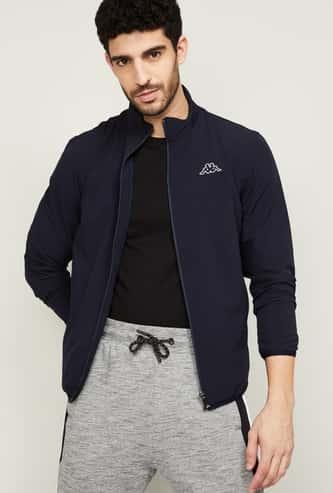 KAPPA Men Solid Open-Front Jacket