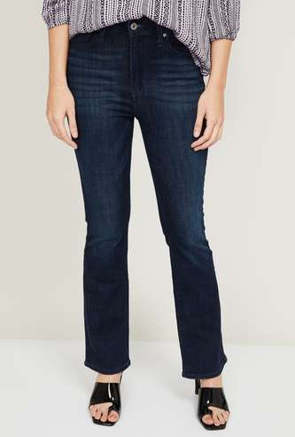 LEVI'S Women Dark Washed Skinny Fit Jeans