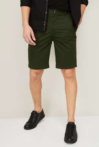 UNITED COLORS OF BENETTON Men Slim Fit Casual Shorts