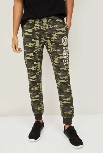 FREE AUTHORITY Men Camouflage Printed Joggers