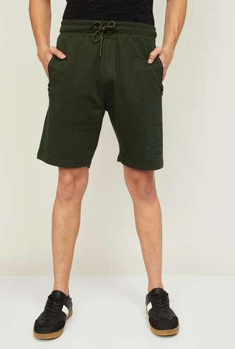 UCLA Men Printed Elasticated Shorts