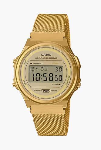 Casio Vintage Unisex Digital Mesh Strap Watch - D226