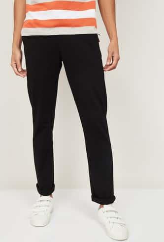 FAHRENHEIT Men Solid Track Pants
