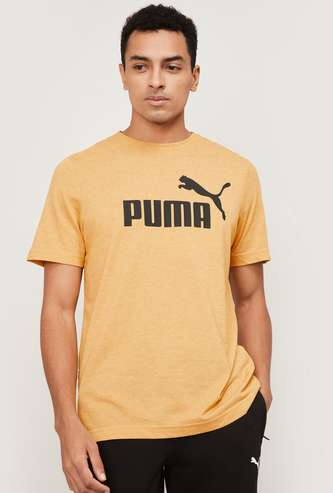 PUMA Men Printed Crew Neck T-shirt