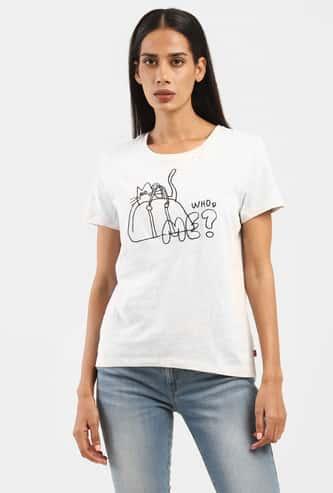 LEVI'S Men Printed Round Neck T-shirt