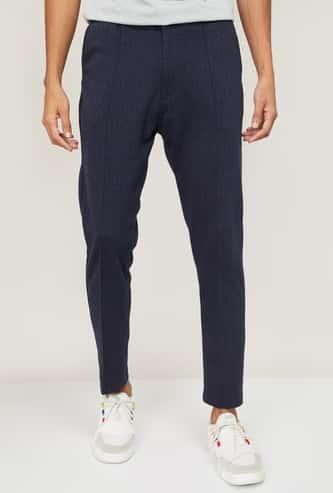 PROLINE Men Textured Track Pants