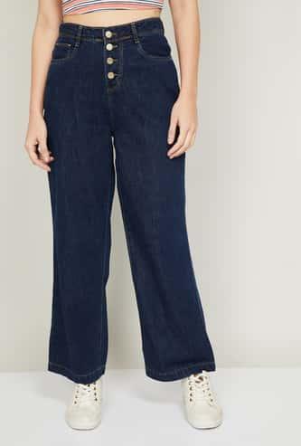 KRAUS Women Medium Washed Bootcut Jeans
