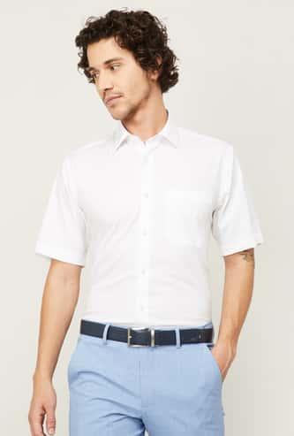 LOUIS PHILIPPE Men Solid Slim Fit Casual Shirt