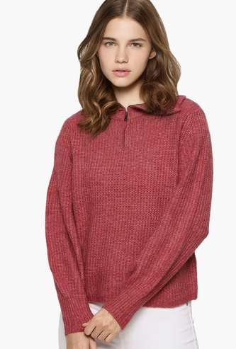 ONLY Women Textured Sweater