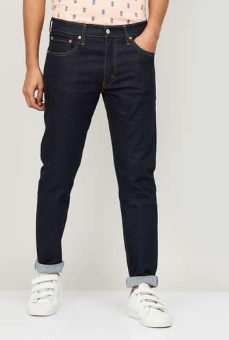 LEVI'S Men Solid Slim Tapered Fit Jeans