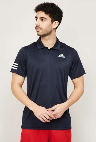 ADIDAS Men Printed Sports Polo T-shirt