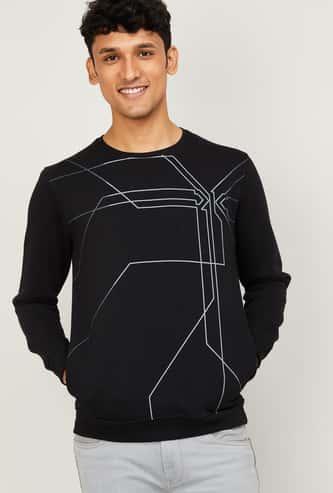 KILLER Men Printed Crew Neck Sweatshirt