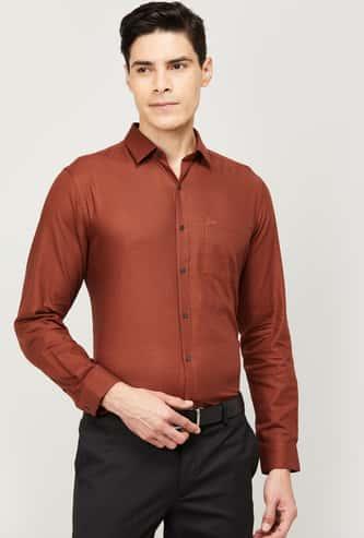 ARROW Men Printed Regular Fit Formal Shirt
