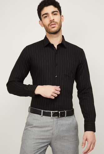 ARROW Men Striped Slim Fit Formal Shirt