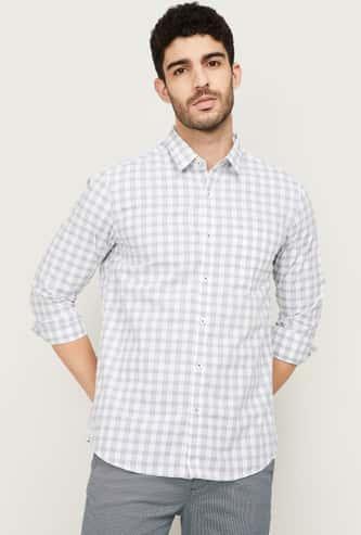ARROW SPORT Men Checked Slim Fit Casual Shirt