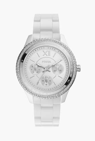 FOSSIL Stella Women Embellished Multifunctional Watch - CE1113