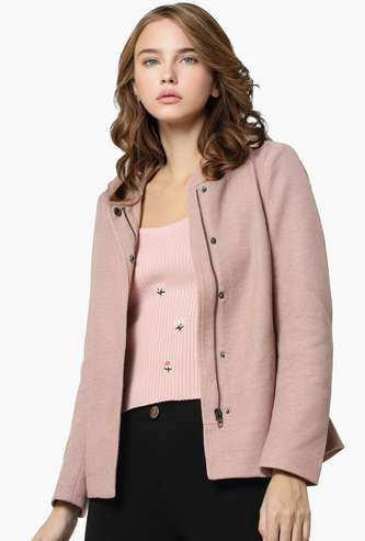 ONLY Women Solid Woven Jacket