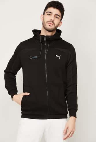 PUMA Men Printed Hooded Sweatshirt