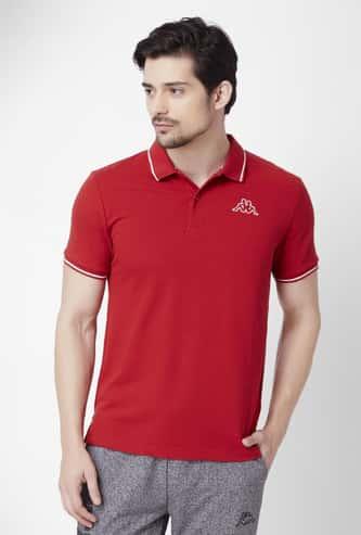 KAPPA Solid Half Sleeves Polo T-Shirt - Pack of 2