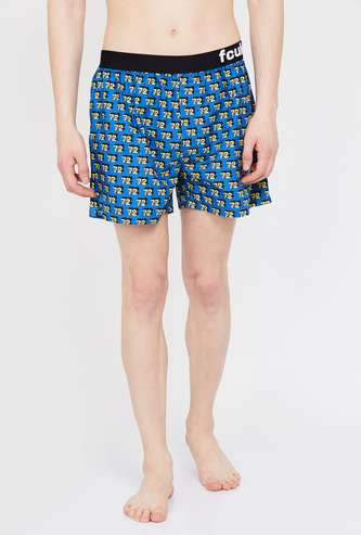 FCUK Printed Boxers