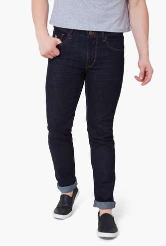 U.S. POLO ASSN. Brandon Light Fade Slim Tapered Fit Jeans