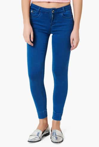 XPOSE Light Wash Jogger Jeans