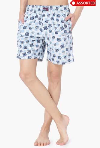 JOCKEY Printed Woven Shorts - Assorted Colour & Design