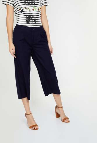 FAME FOREVER Solid Culottes