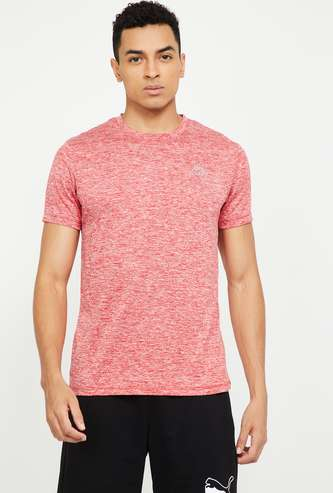 KAPPA Textured Regular Fit T-shirt