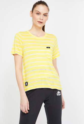 KAPPA Striped Lightweight Regular Fit T-shirt