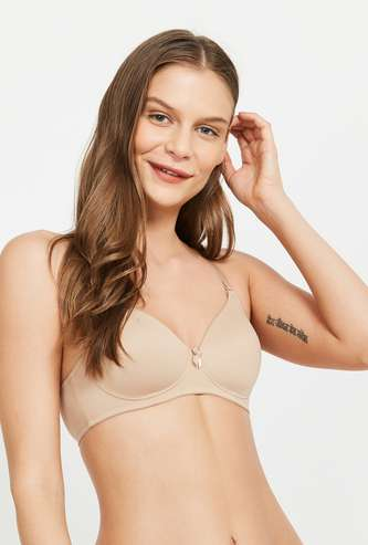 AMANTE Solid Padded T-shirt Bra