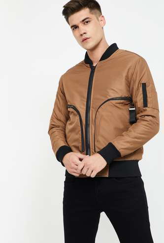 FORCA Solid Bomber Jacket