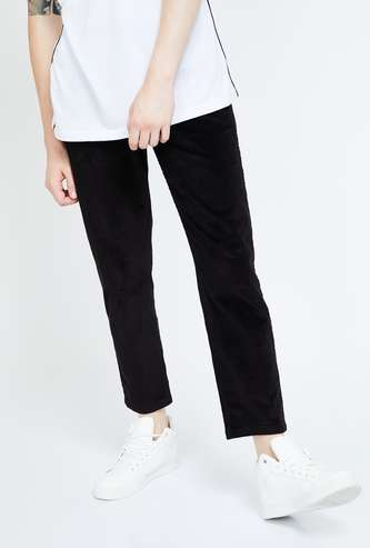 BOSSINI Slim Tapered Fit Corduroy Pants