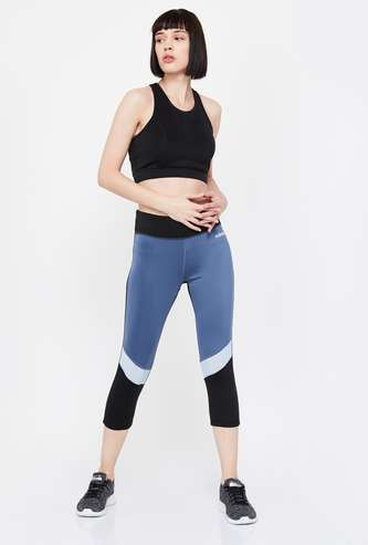 ADIDAS Panelled Knitted Tights