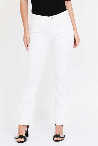 XPOSE Solid Slim Fit Jeans