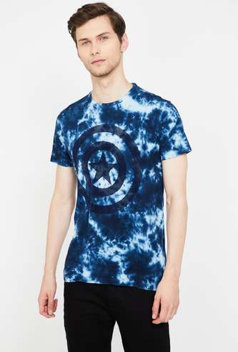 FREE AUTHORITY Printed Slim Fit Crew Neck T-shirt