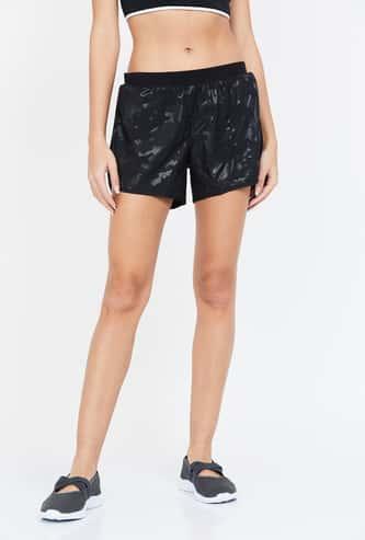 ADIDAS Printed Regular Fit Woven Shorts