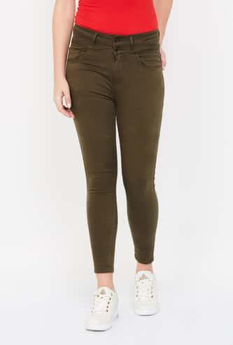 JEALOUS 21 Solid Skinny Jeans