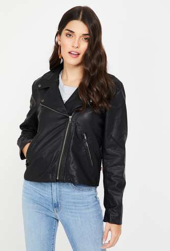 LEVI'S Full Sleeves Zip Closure Regular Fit Jacket