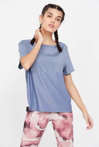 REEBOK Printed Regular Fit Round Neck T-shirt