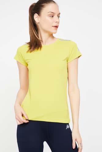 KAPPA Solid Short Sleeves Kooltex Lightweight T-shirt