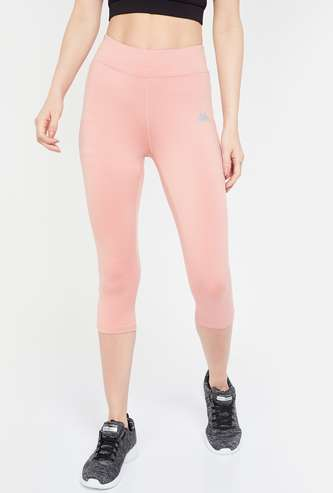 KAPPA Solid High-Rise Hydroway Cropped Lightweight Tights